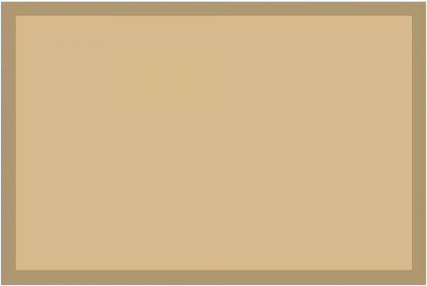 Fußmatte Fußabstreifer UNI einfarbig rutschfest waschbar 40x60 cm Farbe beige