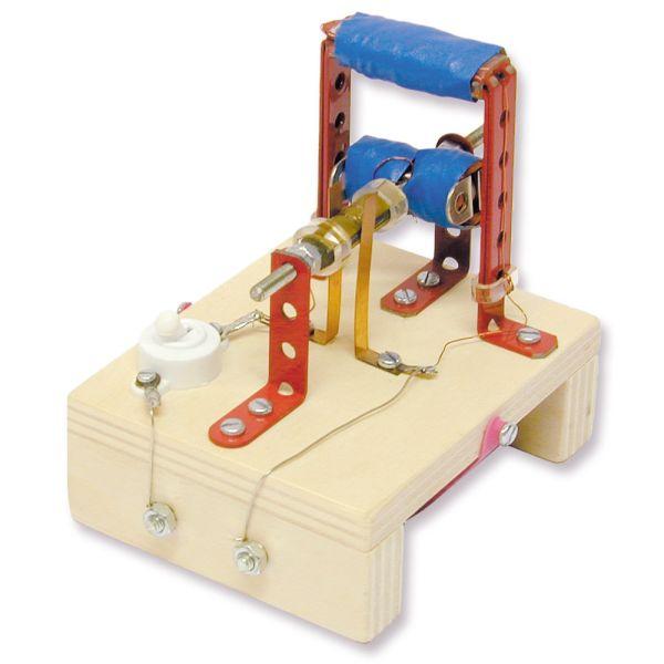 Elektromotor Elektromagnet Modell Bausatz Kinder Werkset Bastelset ab 13 Jahren