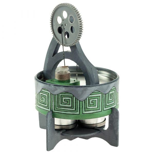Heißluftmotor Stirling Funktionsmodell Bausatz Kinder Werkset Bastelset ab13J.