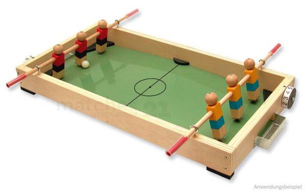 Tischfußball Tischkicker Holz Bausatz Kinder Werkset Bastelset - ab 12 Jahren