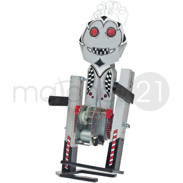 Lauf-Roboter 10x9x25 cm Kinder Bausatz Werkset Bastelset ab 12 J.