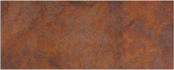 Teppichläufer Küchenläufer Teppich Rostoptik Rost braun waschbar in 60x150 cm
