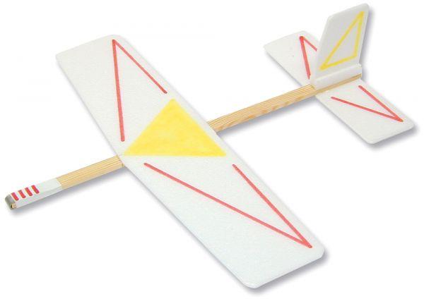 Segelflieger Segler Flugzeug 32 cm Bausatz Kinder Werkset Bastelset ab 8 Jahren