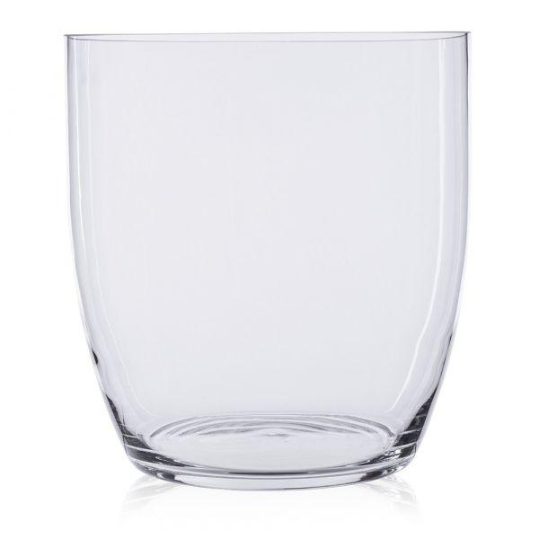 Vase Glas Blumenvase Pflanztopf Blumentopf Zylinderform hoch rund 1 Stk Ø 23,7 cm
