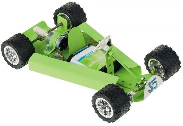 Go-Kart 27x16 cm Kinder Bausatz Werkset Bastelset ab 13 J.