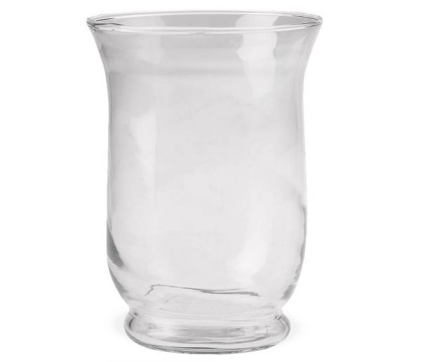 Vase Glas Bauchig Dekoglas Glasvase Blumenvase Bodenvase hoch 1 Stk Ø 11x15 cm