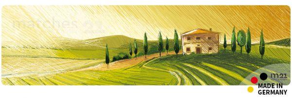 Teppichläufer Küchenläufer Mediterrane Landschaft 50x180 cm waschbar
