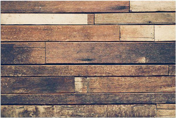 Fußmatte Fußabstreifer DECOR Holz Holzoptik Holzbretter braun waschbar 40x60 cm