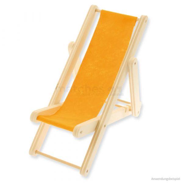 Mini Liegestuhl 30 cm Bausatz Kinder Werkset Bastelset - ab 11 Jahren