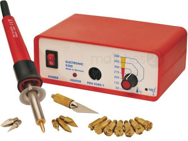 3in1 Multifunktions Brennstation 50-500°C für Löten / Brandmalerei & Modellieren