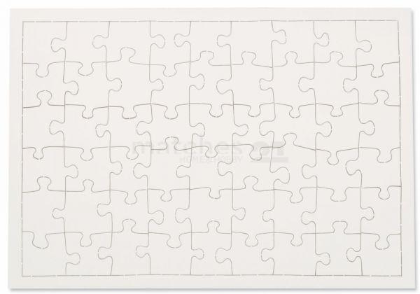Puzzle Selbstgestalten als Karton Kinder Bastelset bemalbar - ab 6 Jahren