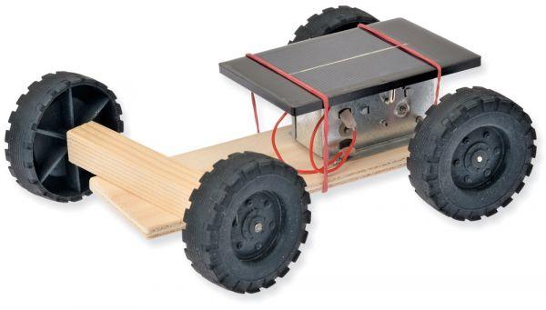 Solar Fahrzeug Holz Bausatz Kinder Werkset Bastelset Lernspiel ab 9 Jahren