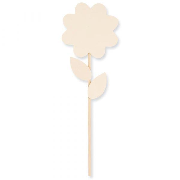 Blume Laubsägevorlage Bastelset Geschenk basteln & bemalen für Kinder ab 7 Jahren