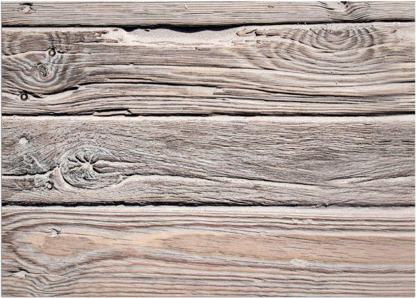 Fußmatte Fußabstreifer DECOR Holz Dielen Holzoptik braun natur waschbar 50x70 cm