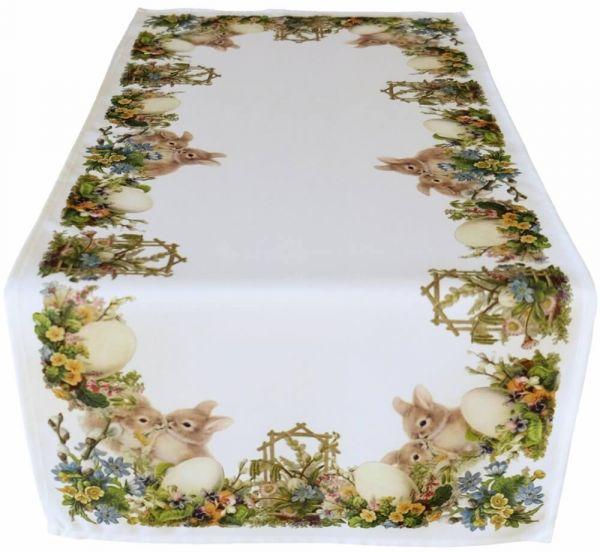 Tischläufer Tischdecke Tischwäsche Ostern nostalgisch 40x90 cm