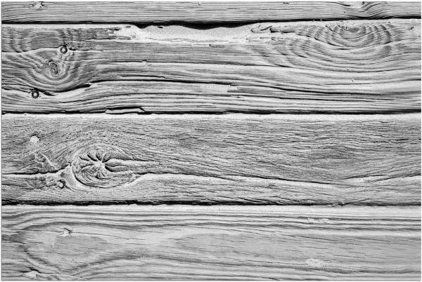 Fußmatte Fußabstreifer DECOR Holz Dielen Holzoptik braun grau waschbar 40x60 cm