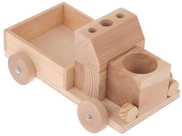 Notiz-Express 20x12x12 cm Holz Kinder Bausatz Werkset Bastelset ab 8 J.