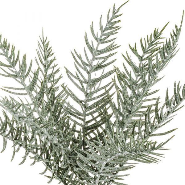 Zypressenzweig Dekozweig Zypresse buschig Deko Kunstblume Weihnachten 1 Stk 40 cm