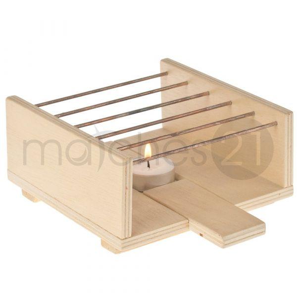 Stövchen 125x15x8 cm Holz Kinder Bausatz Werkset Bastelset ab 11 J.