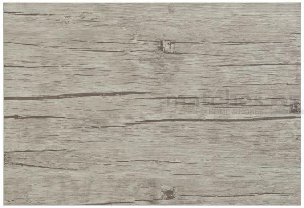 Tischset Platzset 1 Stk. Holzdesign Holzbrett 43,5x28,5 cm 1,5mm grau Kunststoff