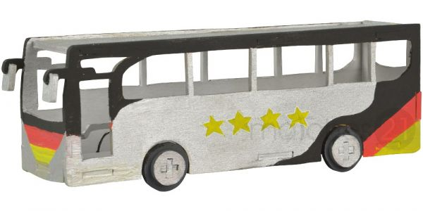 Omnibus Bus 3D Holz Steckbausatz Bausatz / Kinder Bastelset ab 10 Jahren