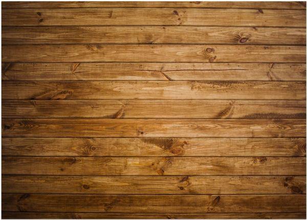 Fußmatte Fußabstreifer DECOR dunkles Holz Holzoptik Bretter waschbar 50x70 cm