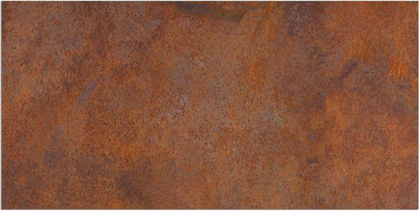 Teppichläufer Küchenläufer Teppich Rostoptik Rost braun waschbar in 60x120 cm