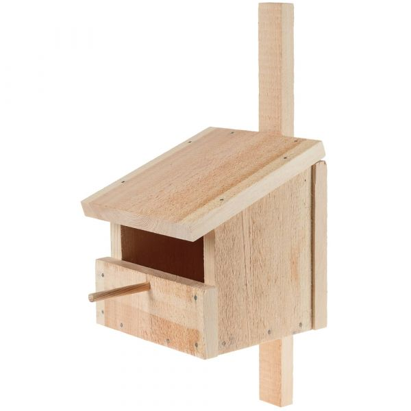 Nisthöhle Nistkasten Halbhöhle Massiv Holz Bausatz Kinder Werkset ab 12 Jahren