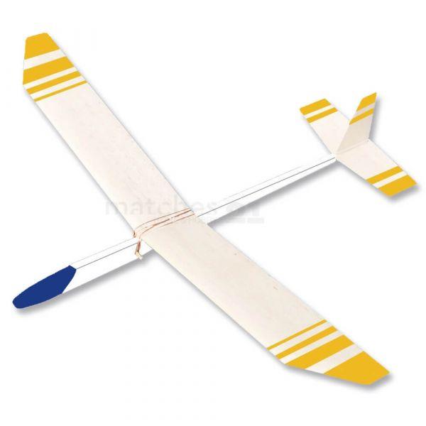 Segelflieger Flugzeug 68 cm Bausatz Kinder Werkset Bastelset - ab 11 Jahren