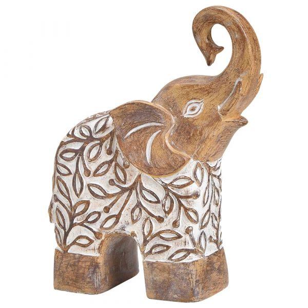 Elefanten Figuren Tierfiguren Dekofiguren indisch Skulpturen 1 Stk - 2 Größen