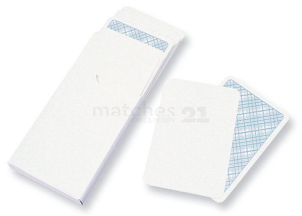 Spielkarten 2 Sets (2x32 Karten) Bemalen & Selbstgestalten Vorderseite bemalbar