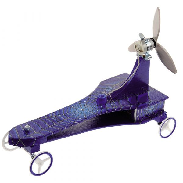 Renner mit Luftschraubenantrieb Bausatz f. Kinder Werkset Bastelset ab 10 Jahren