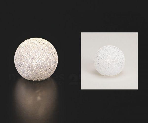LED Leuchtball Leuchtkugel Kunststoff mit Timer Batteriebetrieben – 3 Größen