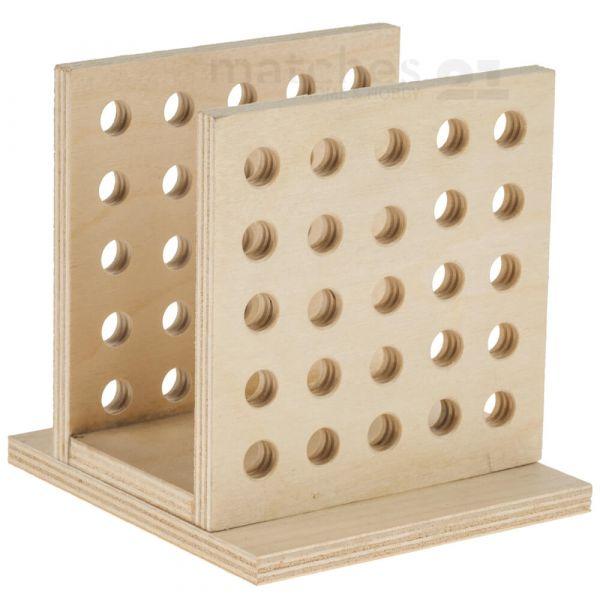 Stiftehalter Bausatz Holz Holzbausatz Werkset Bastelset für Kinder ab 11 Jahren