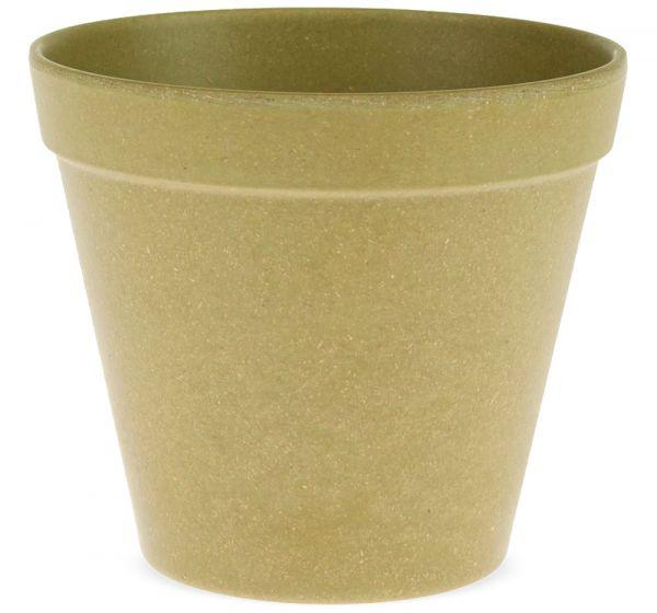 Pflanztopf Blumentopf nachhaltig kompostierbar biologisch grün 1 Stk Ø 11x9,5 cm