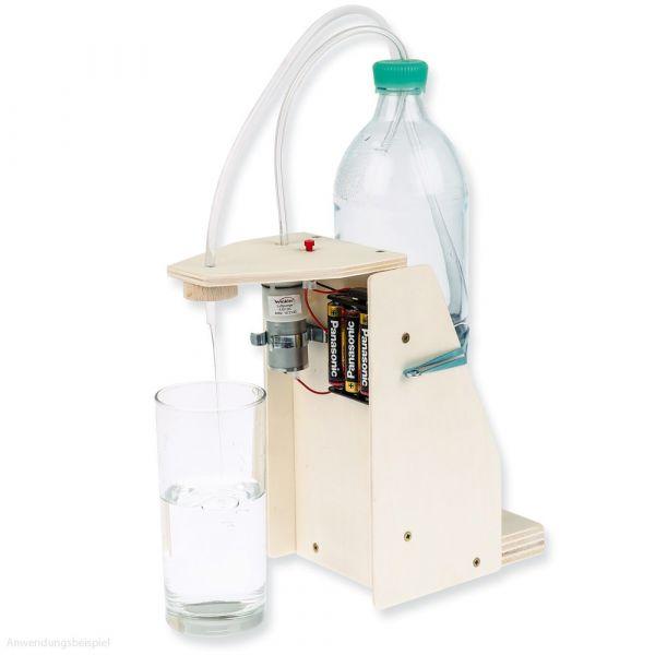 Getränkespender Bastelset Überdruckfunktion & E-Kompressor Bastelset ab 11 Jahre
