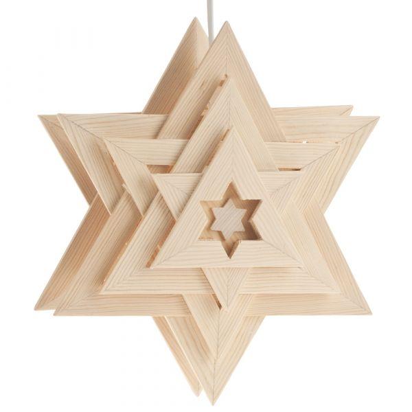 Weihnachtsstern Orion Ø 30 cm Bausatz f. Kinder Werkset Bastelset ab 9 Jahren
