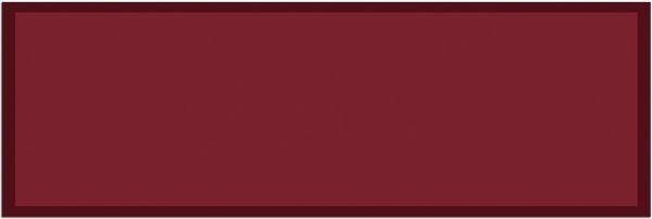 Fußmatte Teppichläufer UNI einfarbig rutschfest waschbar 50x150 cm Farbe weinrot