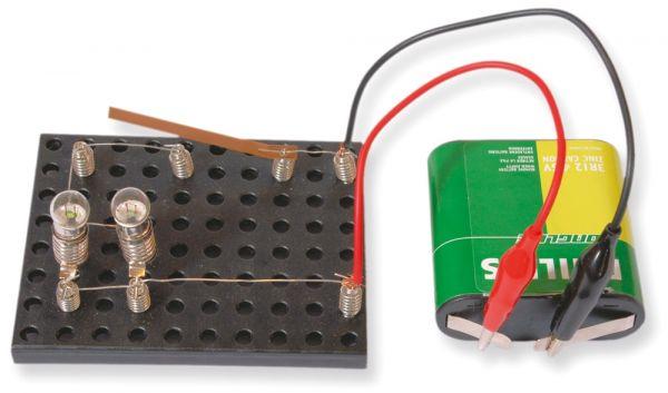 Elektronik Starter Set Stromkreise & Schaltungen Kinder Lernspiel - ab 10 Jahren