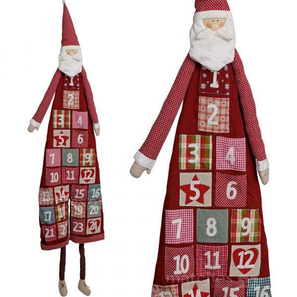 Adventskalender zum Befüllen XXL ca. 180 cm wunderschöner Weihnachtsmann