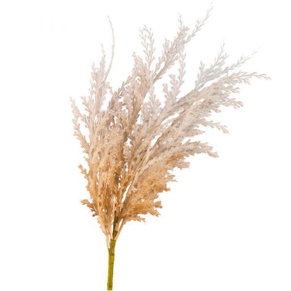 Pampasgras Trockenblumenoptik Kunstpflanze Deko-Gras 1 Stk 56 cm - natur