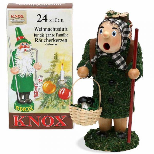 Räuchermännchen Holz 16-20cm Weihnachten viele Berufe / Designs & Räucherkerzen