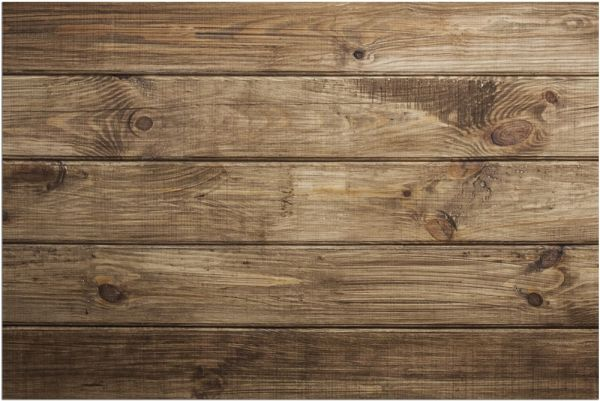 Fußmatte Fußabstreifer DECOR Holz dunkel Holzoptik Holzbretter waschbar 40x60 cm