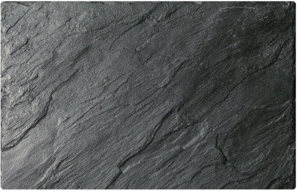 Tischset Platzset 1 Stk B-WARE MOTIV schwarzer Schiefer 43,5x28,5 cm