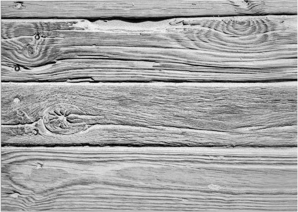 Fußmatte Fußabstreifer DECOR Holz Dielen Holzoptik braun grau waschbar 50x70 cm