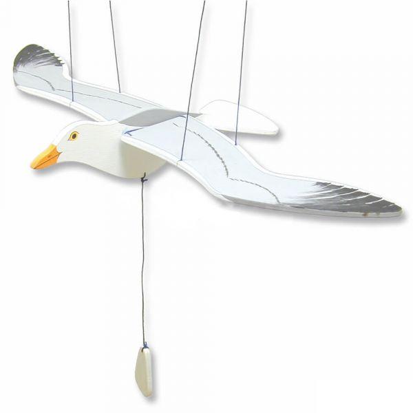 Vogel Mobile schwebend Flügelschlag Bausatz Holz Kinder Werkset - ab 10 Jahren