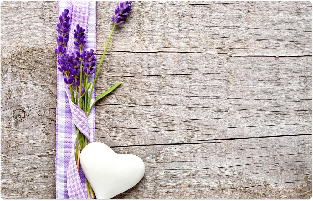 abwaschbar Tischsets Platzsets MOTIV Frühling bunte Tulpen auf Holz 4 Stk