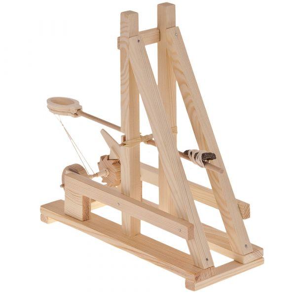 Römisches Katapult Bausatz f. Kinder Werkset Bastelset ab 11 Jahren