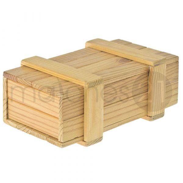 Sesam-Öffne-Dich Geheimbox Bausatz f. Kinder Werkset Bastelset ab 10 Jahren
