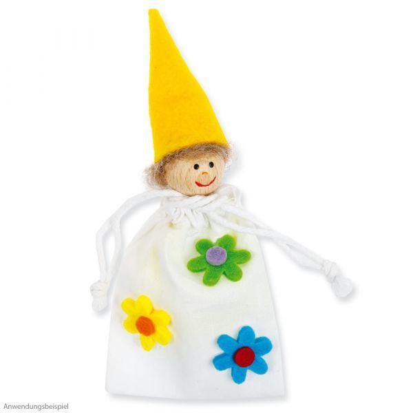 Sorgenpüppchen Kummerpüppchen Bastelset Kreativset 6er Set für Kinder ab 4 Jahren